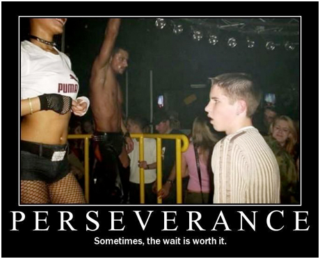 perseverence funny poster